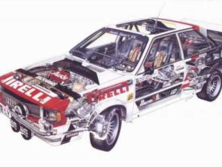 !Rally modely: Audi Quattro rally