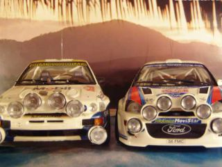 !Rally modely: Ford Escort RS Cosworth