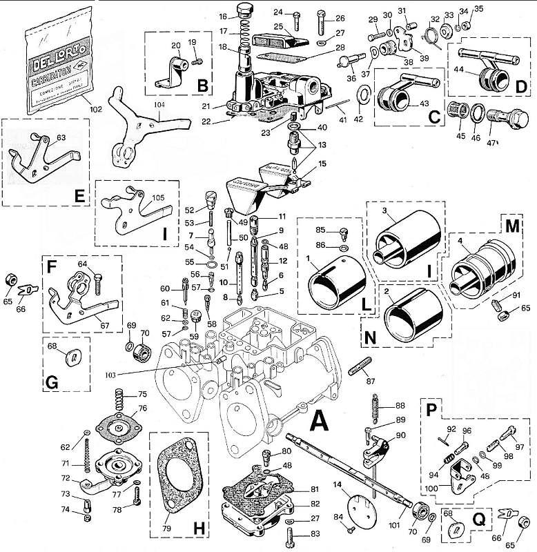 exploded view dellorto 40 dhla rh carbparts eu dellorto drla carburetor manual pdf dellorto dhla 40 carb tuning