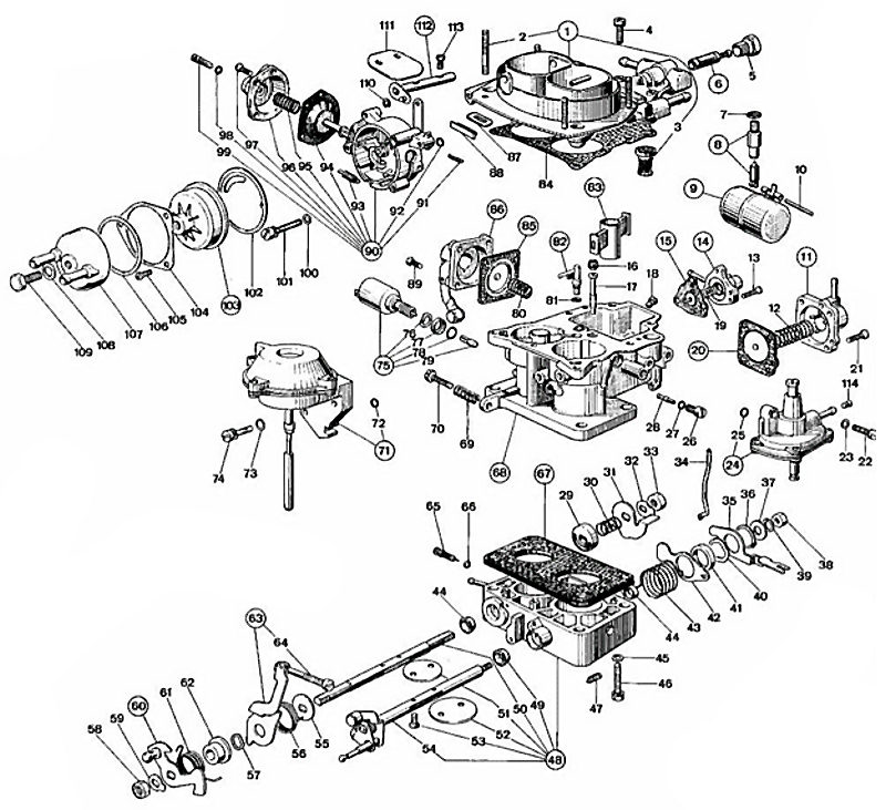 78 Corvette Vacuum Diagram