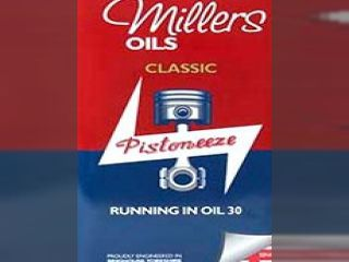 Millers Oils Classic Running in oil